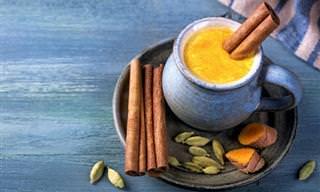 La Leche Dorada: Receta y Beneficios Para La Salud