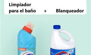 Mezclar Estos Productos De Limpieza Produce Vapores Tóxicos
