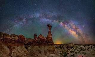 LaAlucinanteVía LácteaPor David Lane