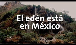 """La Asombrosa Cascada """"El Aguacero"""" En Chiapas, México"""