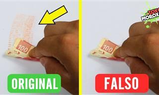 ¿Cómo Identificar Los Billetes Falsos?