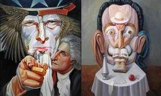 Las Increíbles Ilusiones Ópticas De Oleg Shuplyak