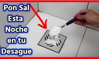 Solo Necesitas Una 1 Cucharada De Sal En Tu Desagüe