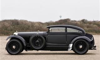 Recreando El Legendario Bentley Speed Six