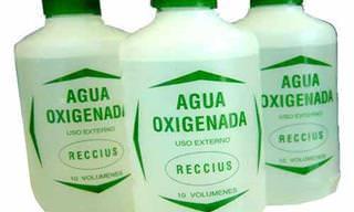 Descubre En Imágenes Los Beneficios Del Agua Oxigenada