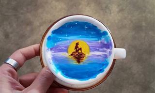 Un Barista Capaz De Convertir Tazas De Café En Obras De Arte
