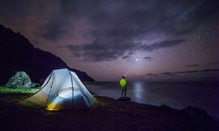Chiste Del Día: Un Camping Al Descubierto