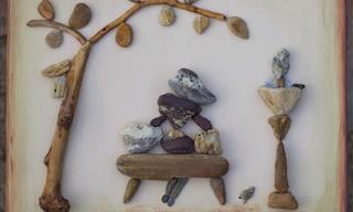 Arte Creado Con Piedras De Timea Papp