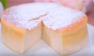 El Pastel Japonés Con Textura De Algodón Más Rico