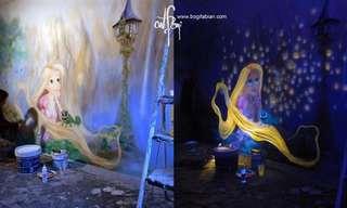 Murales Soñados Que Aparecen En La Oscuridad