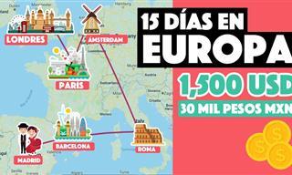 ¿Cuánto Cuesta Viajar a Europa?