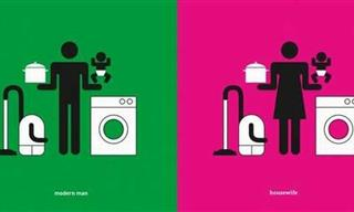 Diferencias Gráficas Entre Hombres y Mujeres