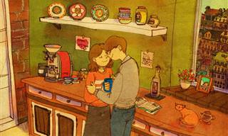 Nuevas Ilustraciones De La Artista Coreana Puuung