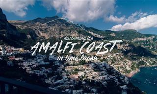 El Mediterráneo No Puede Ser Más Hermoso: Costa de Amalfi