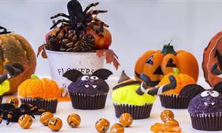3 Deliciosos y Fáciles Cupcakes Para Celebrar Halloween