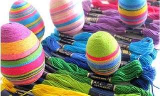 Maravillosos Diseños Decorativos Para Huevos