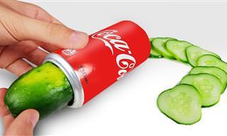 Nunca Imaginé Que Una Lata De Coca-Cola Diera Para Tanto