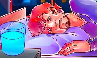 No Bebas Un Vaso Con Agua Que Dejaste Por La Noche