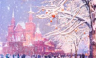 Fotografías Mágicas Del Invierno En Moscú
