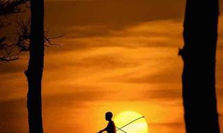 Hermosas Historias Contadas a Través De La Puesta De Sol
