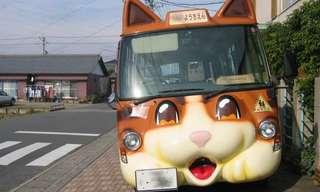 Los Singulares Autobuses De Japón