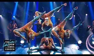 Espectáculo Del Cirque du Soleil