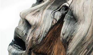 Estas Esculturas De Cerámica Parecen De Madera