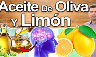 ¿Por Qué Deberías Consumir Aceite De Oliva Mezclado Con Limón?