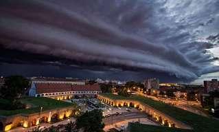 Estas Impactantes Nubes Anuncian Tormentas…