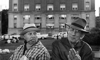 Una Mirada En Blanco y Negro Al Nueva York De Los Años 50