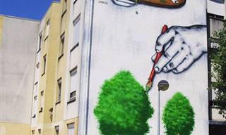 Las Ciudades Cobran Vida Con Estas 30 Piezas De Arte Callejero