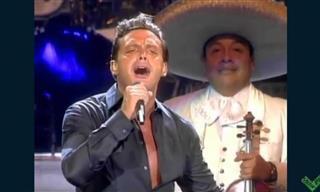 """Luis Miguel Canta En Vivo """"Si Nos Dejan"""""""