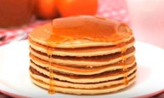 Hoy Domingo Desayuna Unas Tortitas Americanas Esponjosas