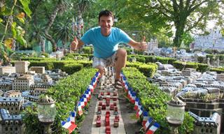 Este Artista Construyó La Capital Francesa En Miniatura