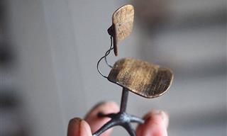 Impresionante Arte En Miniatura De Kiyomi