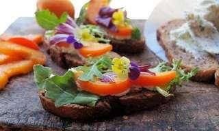 Deliciosas Recetas Con Flores Comestibles