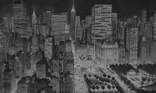 Stefan Bleekrode y Sus Paisajes Urbanos Hechos Con Un Lápiz