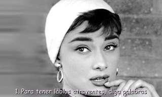 Audrey Hepburn Cuenta Su Secreto de Belleza