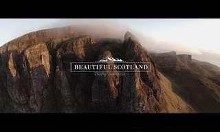 Un Increíble Vuelo Sobre La Campiña Escocesa