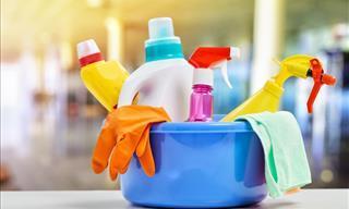 8 Suministros De Limpieza Que Necesitas Reemplazar Con Más Frecuencia