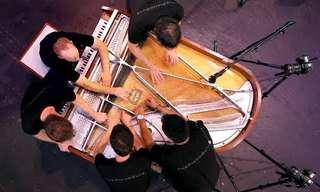 5 Chicos + 1 Piano = Magia