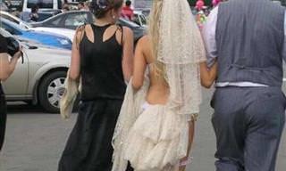 Estos 16 Vestidos De Novia No Deberían Volver a Existir