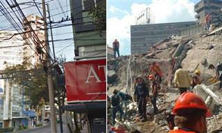 Terremoto En México: Las Imágenes Del Caos y La Destrucción