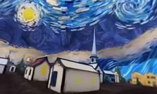 ¿Y Si Pudieras Estar Dentro De Una Pintura Van Gogh