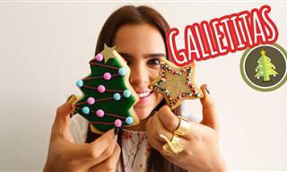 Tutorial: 3 Tipos De Galletas Para Estas Navidades
