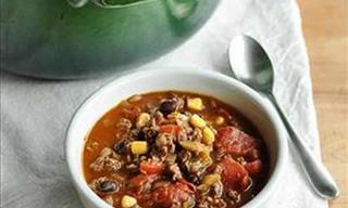 Chili Con Carne Para Las Noches De Invierno