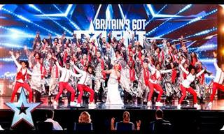 100 Voces De Gospel Brillando En 'Britain's Got Talent'.