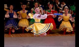 """Presentación Del Baile Folclórico Ruso """"La Doncella"""""""