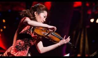 Una Violinista Con Un Objetivo Especial