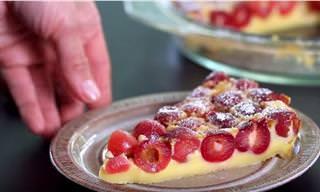 Delicioso y Fácil Pastel De Cereza Para Esta Temporada